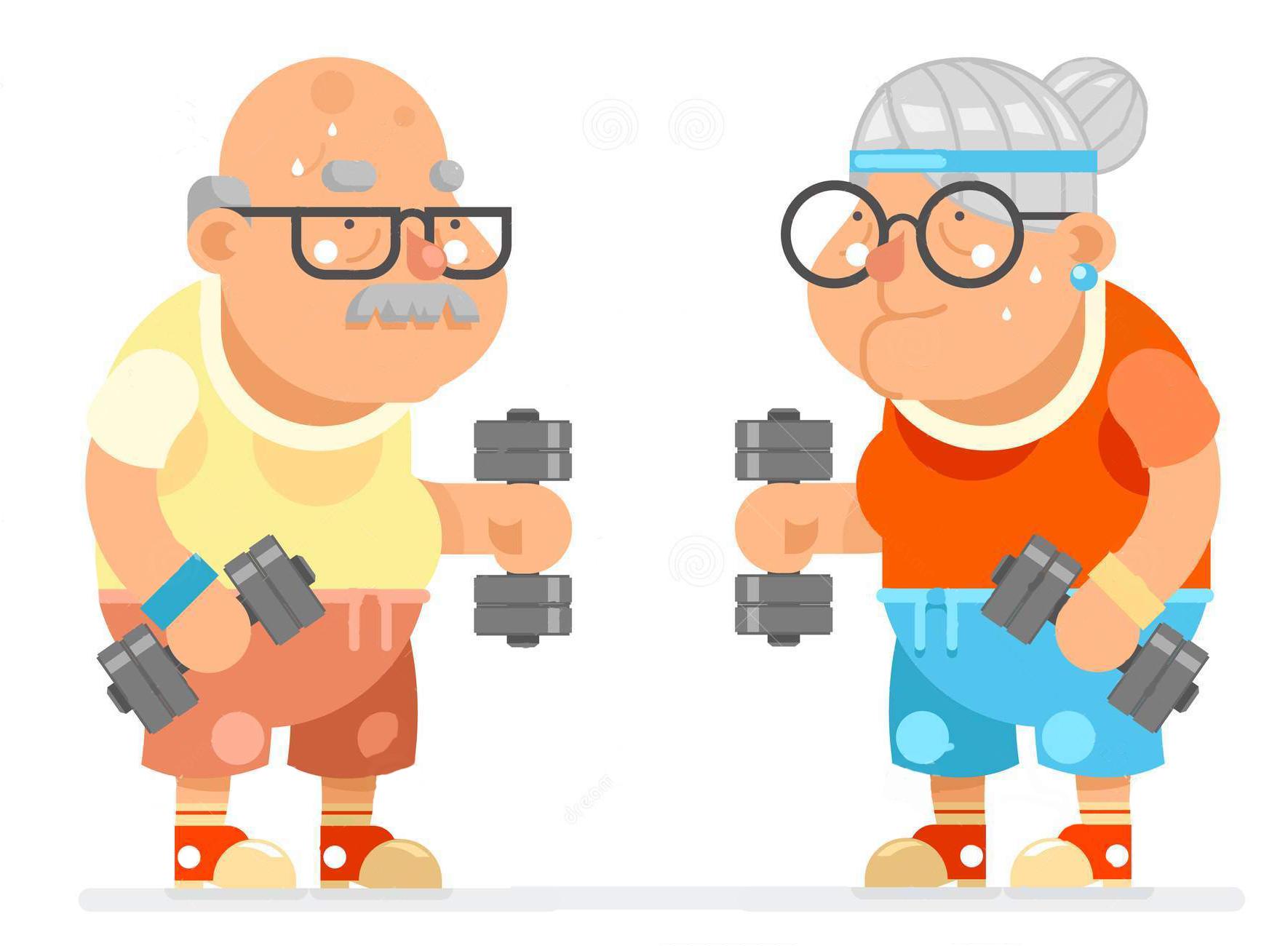 انجام ورزش های فدرتی در کهنسالی به بدن کمک می کند